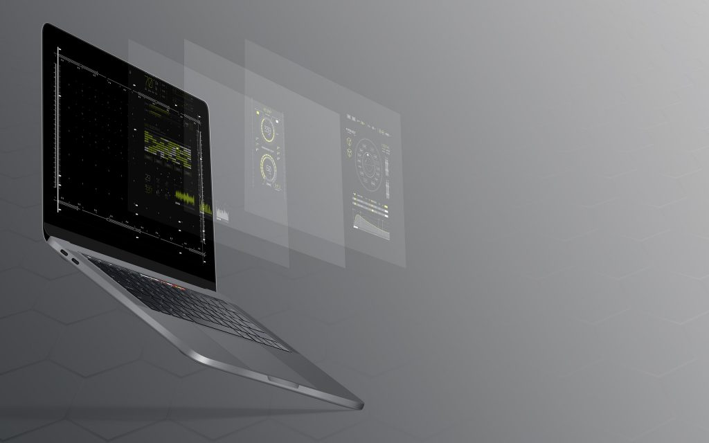 laptop with 3d screens