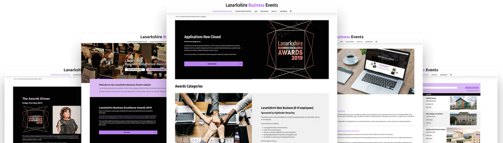 lanarkshire business events website