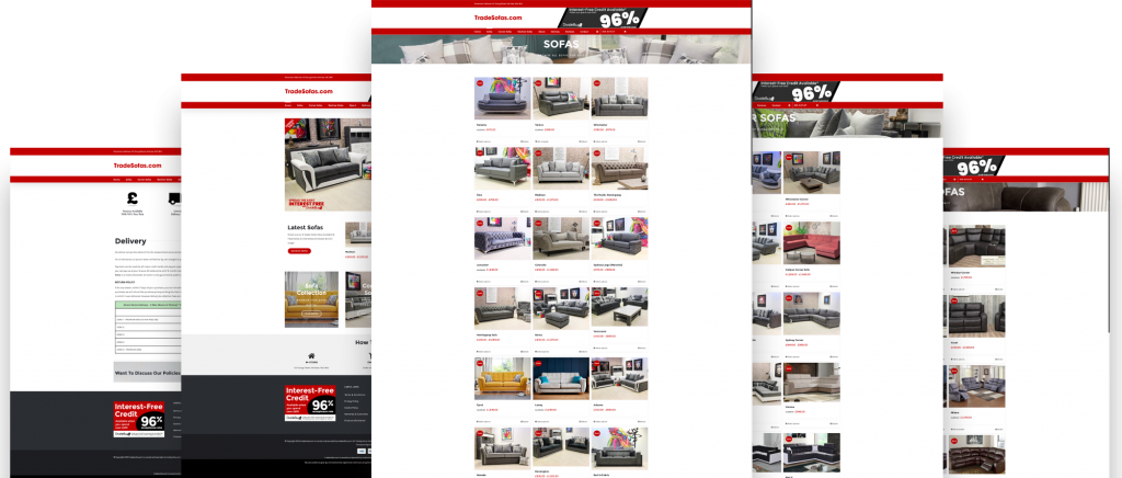 Trade Sofas Website