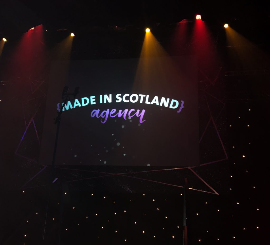 Made in Scotland Sponsor of Lanarkshire Business Excellence Awards