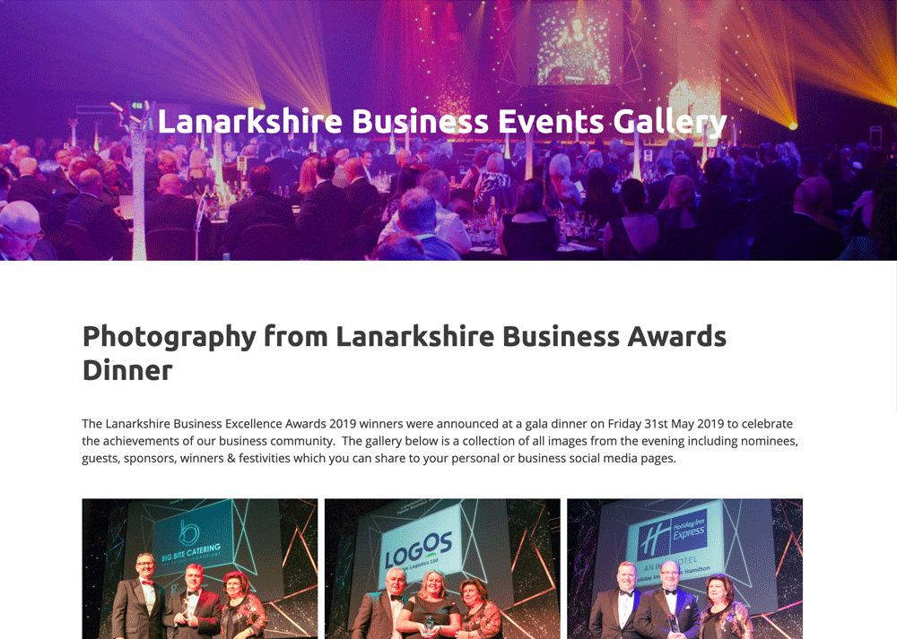 Lanarkshire Business Events - Gallery