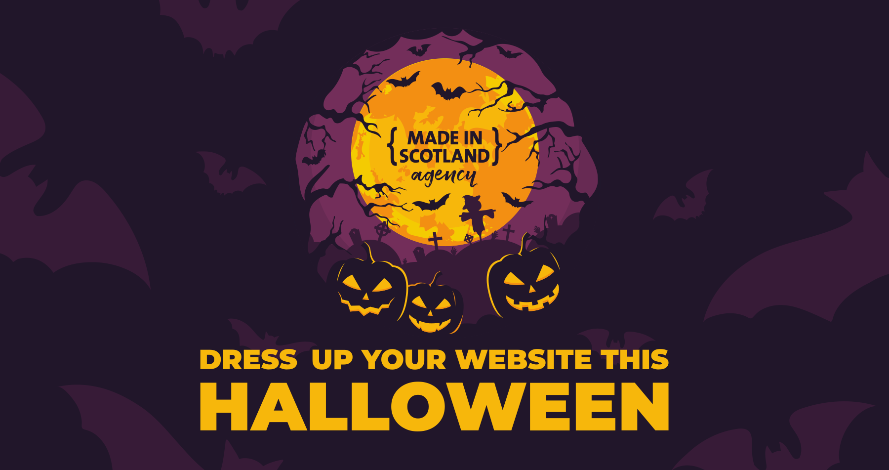 Dress up your website this Halloween