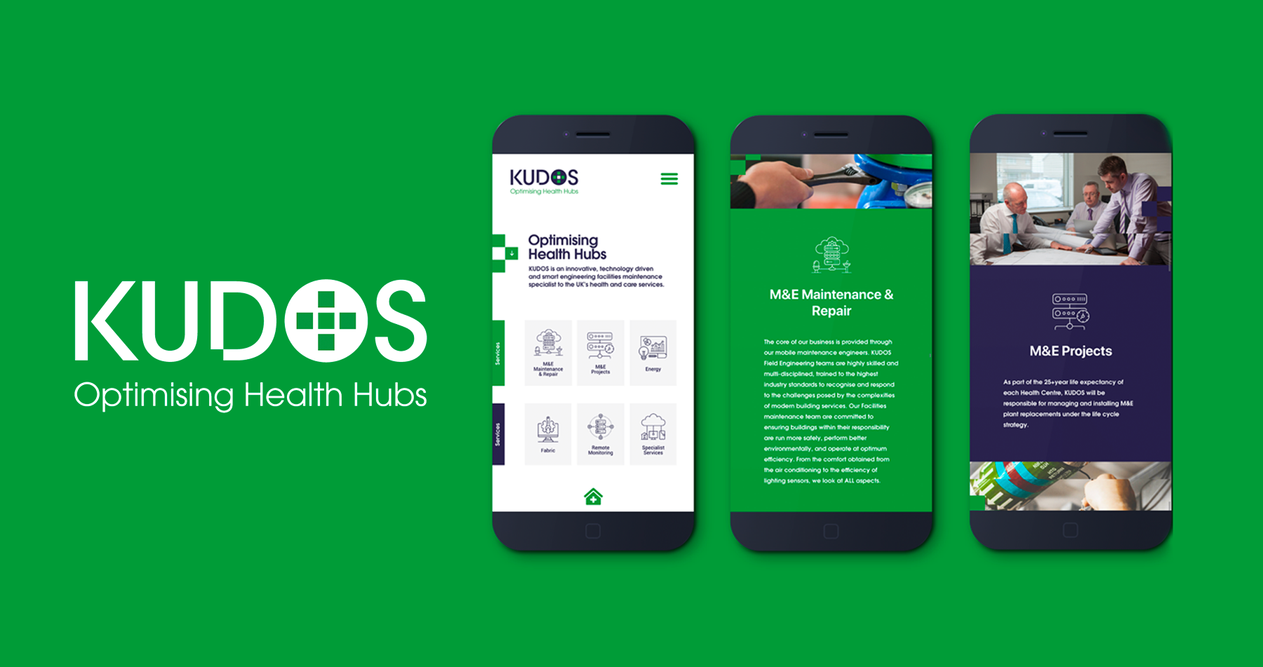 KUDOS – Website Launch